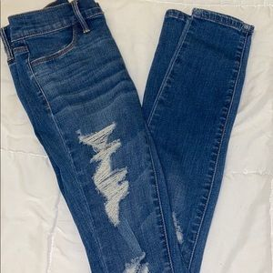 PacSun distressed skinny jeans